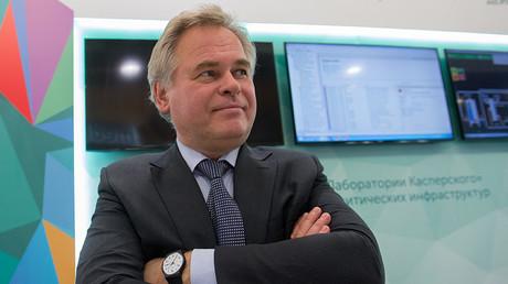 Eugene Kaspersky, co-founder of Moscow-based cyber-security company Kaspersky Lab © Sergey Guneev