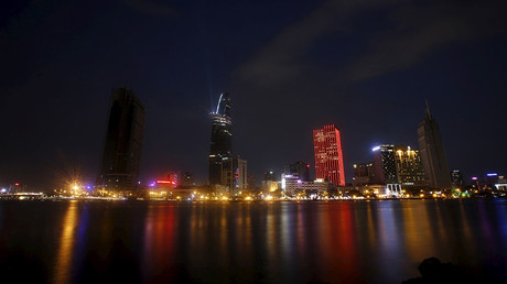 New buildings are seen along the Saigon river in southern Ho Chi Minh City (formerly Saigon City), Vietnam ©Kham