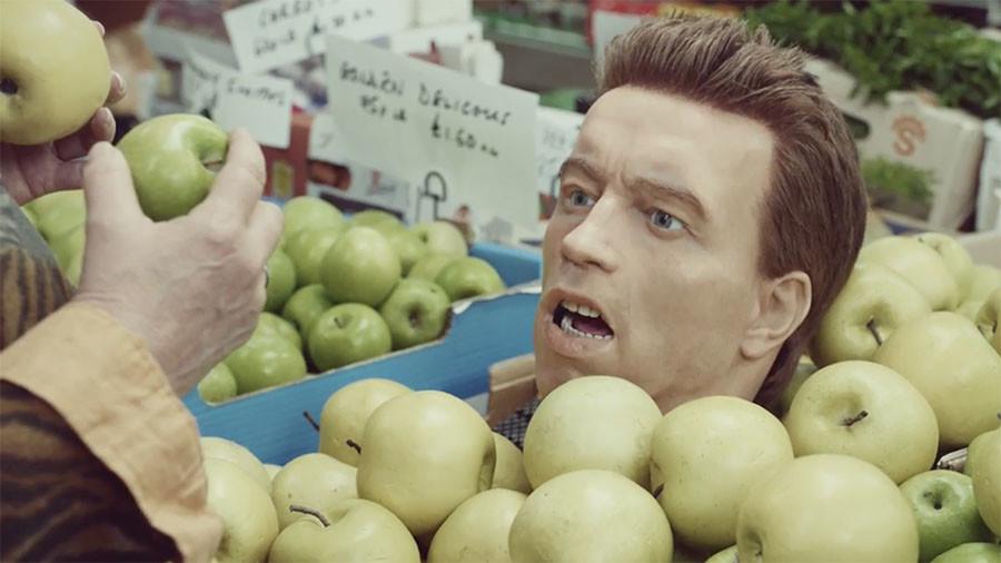 Schwarzenegger's head on caterpillar tracks drags down UK lender