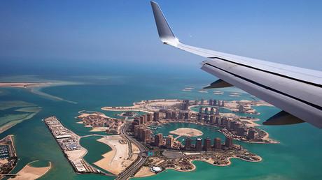 An aerial view of Doha, Qatar © Jacquelyn Martin