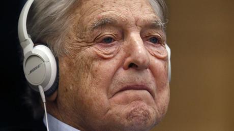 Georges Soros, Chairman of Soros Fund Management. ©Charles Platiau
