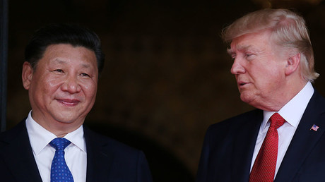 Chinese President Xi Jinping and U.S. President Donald Trump. © Carlos Barria / Reuters